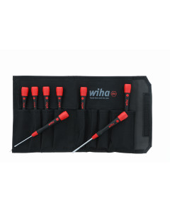 PicoFinish Precision Slotted Screwdrivers 8 Piece Set in Canvas Pouch