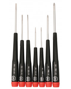 7 Piece Precision Slotted and Phillips Screwdriver Set