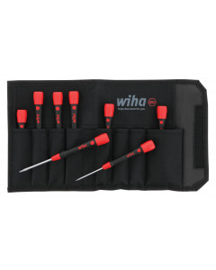 PicoFinish Precision Hex Inch Driver 8 Piece Set in Canvas Pouch