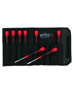 PicoFinish Precision Metric Nut Driver 8 Piece Set in Canvas Pouch