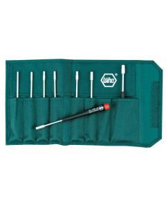 Precision Inch Nut Driver 8 Piece Set in Canvas Pouch