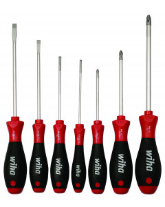 SoftFinish® Slotted and Phillips Screwdriver Set 7-Piece