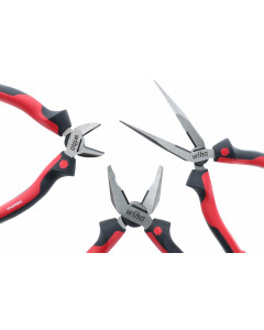 Industrial Pliers SoftGrip 3 Piece