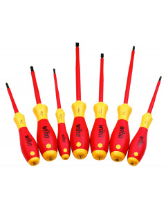 Insulated Screwdriver Set 7 Piece with Square Tips