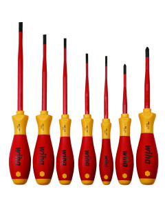 7 Piece Insulated SoftFinish® SlimLine® Screwdriver Set