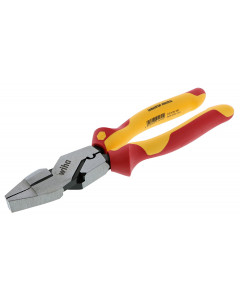 Insulated 9.5 Inch Lineman's Pliers with Crimpers
