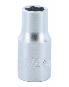 "1/4"" Drive Socket, 6 Point, 1/4"""