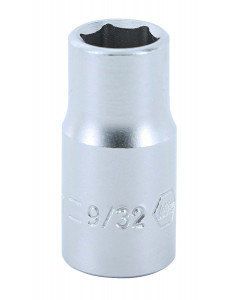 "1/4"" Drive Socket, 6 Point, 9/32"""