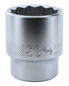 "1/2"" Drive Socket, 12 Point, 28.0mm"
