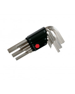 9 Piece Hex L-Key Short Arm Set - Metric