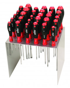 30 Piece SoftFinish Screwdriver Workstation Set