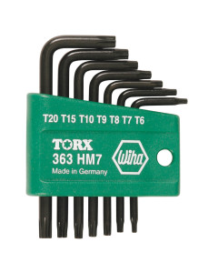 Torx® L-Key 7 Piece Set T6-T20