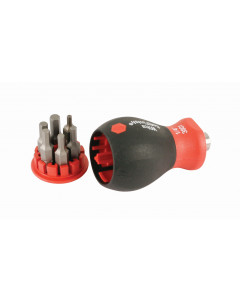 6-in-1 Stubby Bit Holder Hex Inch Set