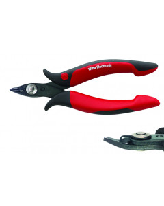 Electronic Diagonal Cutters Full Flush With Wire Trapping Spring