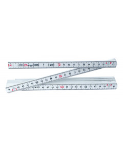 MaxiFlex Folding Ruler Metric Outside Reading