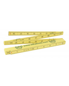MaxiFlex Folding Ruler Combination Metric/Inch