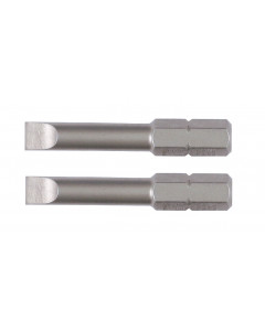 "Slotted Long Insert Bit 1.5"" 2 Pack"