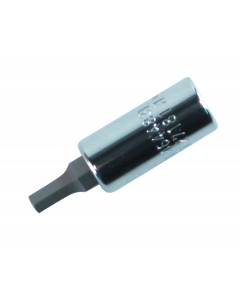 "Hex Inch Bit Socket 1/4"" Square Drive"