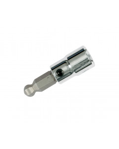 "Ball End Hex Metric Bit Socket 1/4"" Square Drive"