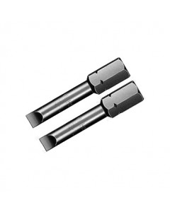 "Slotted Insert Bit 5/16"" Drive 1.6"" 2 Pack"