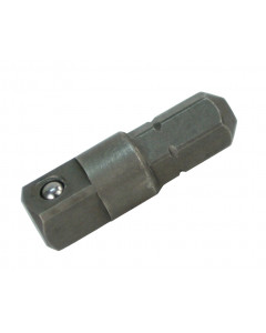 """1/4"""" Hex to 1/4"""" Square Socket Bit Adapter"""