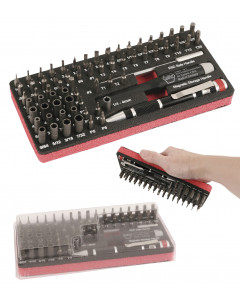 Master Tech ESD Micro Bit Set - 68 Pc. Work Station Set