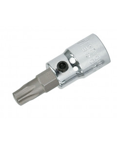 "Security Torx® Bit Socket 1/4"" Square Drive"