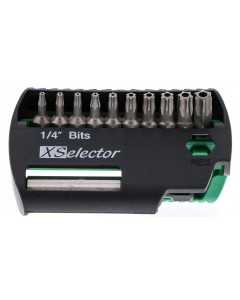 11 Piece Security Torx XSelector and Magnetic Bit Holder Set