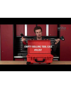 Empty Rolling Tool Case