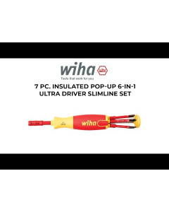 7 pc Insulated 6-in-1 Ultra Driver SlimLine Set