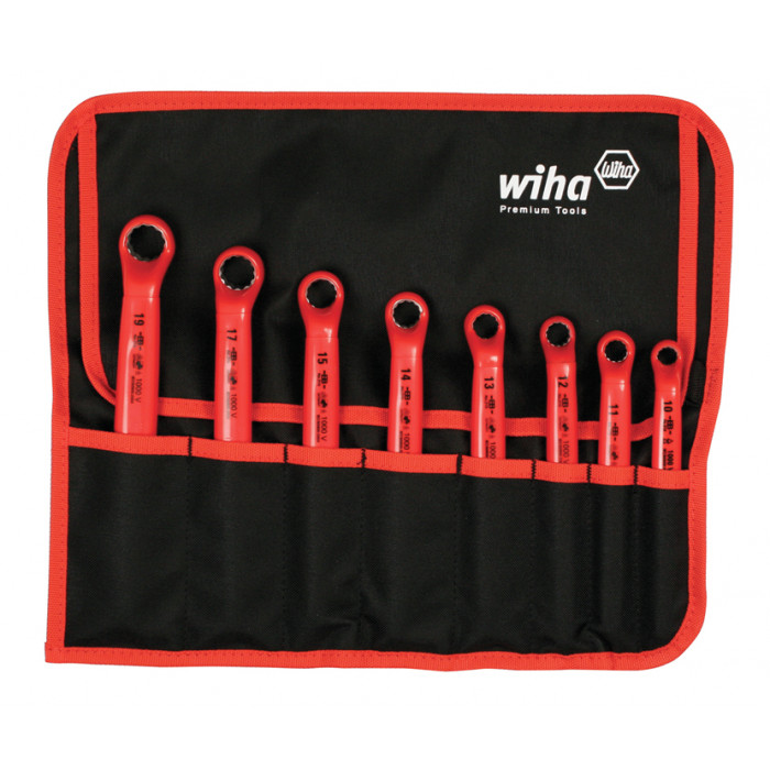 Insulated Deep Offset Wrench 8 Piece Metric Set