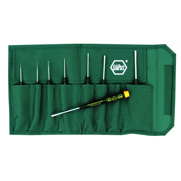 8 Piece ESD Safe Precision Slotted Screwdriver Set