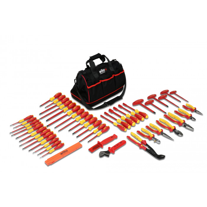 Insulated Pliers/Screwdrivers 50 Piece Set