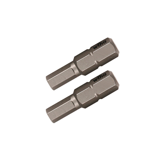 Hex Metric Insert Bit 2 Pack