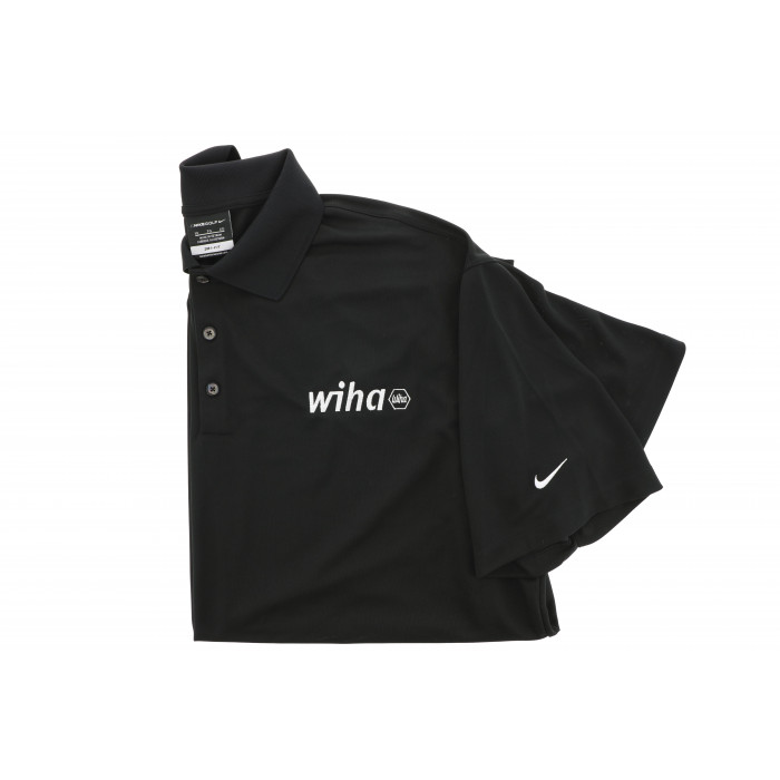 WIHA POLO NIKE BLACK LARGE