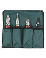 Industrial Soft Grip Pliers/Cutters 4 Piece Set
