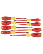 Insulated SlimLine Slotted/Phillips/Square Screwdrivers 8 Piece Set