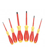 6 Piece Insulated SoftFinish Hex Screwdriver Set - Metric