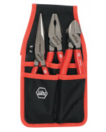 3 Piece Classic Grip Pliers and Cutters Belt Set
