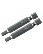 "Hex Metric Power Bit 2"" 2 Pack"