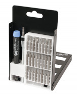 System 4 Slotted/Phillips/Hex Inch/Torx® Micro Bit 27 Piece Set with Standard Precision Handle